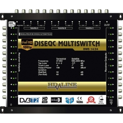 HD-LINE PRO MULTISWITCH 14/24 - 3SAT - 1TER (+ 1SAT 1 POLARITE) / 24DEMOS