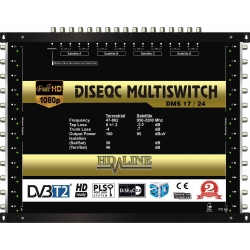 HD-LINE PRO MULTISWITCH 17/24 - 4SAT - 1TER / 24DEMOS