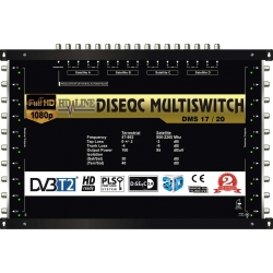 HD-LINE PRO MULTISWITCH 17/20 - 4SAT - 1TER / 20DEMOS