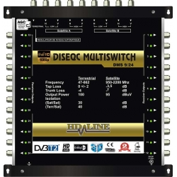 HD-LINE PRO MULTISWITCH 9/24 - 2SAT - 1TER / 24DEMOS