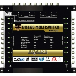 HD-LINE PRO MULTISWITCH 9/20 - 2SAT - 1TER / 20DEMOS