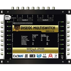 HD-LINE PRO MULTISWITCH 9/16 - 2SAT - 1TER / 16DEMOS