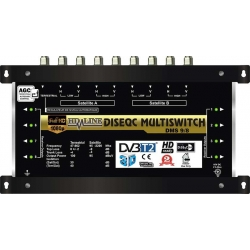 HD-LINE PRO MULTISWITCH 9/8 - 2SAT - 1TER / 8DEMOS