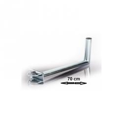 FIXATION L BALCON ANTENNE ET PARABOLE 25X70cm