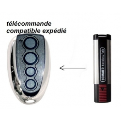 Telecommande compatible Sommer Henderson 4020 4025 4026 4031 TX03 TX02 868 mhz