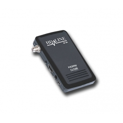 HD-LINE HD-100 Mini récepteur satellite FTA HD 220V 12V Idéal camping Bip signal