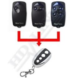 Nice Flor-s telecommande universelle 433 MHZ Porte de Garage / Portail Alarme 4 boutons