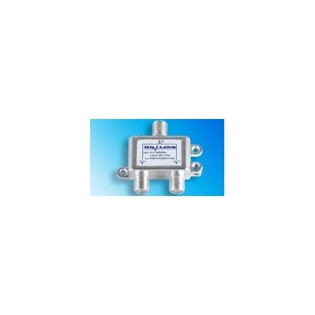 HD-LINE Repartiteur antenne 2 voies TV SAT TNT direction