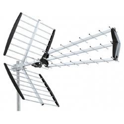 HD-LINE antenne UHF Trinappe TNT HD DVB-T TV Extérieure