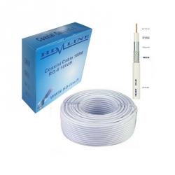 HD-LINE câble coaxial pro 100dB TNT & antenne parabole